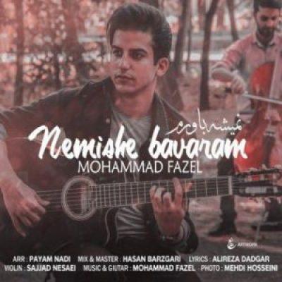 دانلود آهنگ جديد محمد فاضل نمیشه باورم
