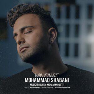دانلود آهنگ جدید محمد شعبانیناراحتم ازت